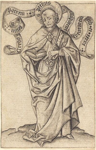 Master E.S., 'Saint Peter', ca. 1450/1460