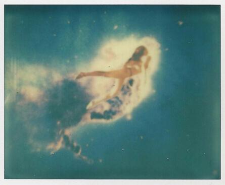 Josey Cary, 'Nebula - Contemporary, Polaroid, Photograph, Abstract, 21st Century, Mermaid, Surrealisme, Conceptual, Blue', 2014