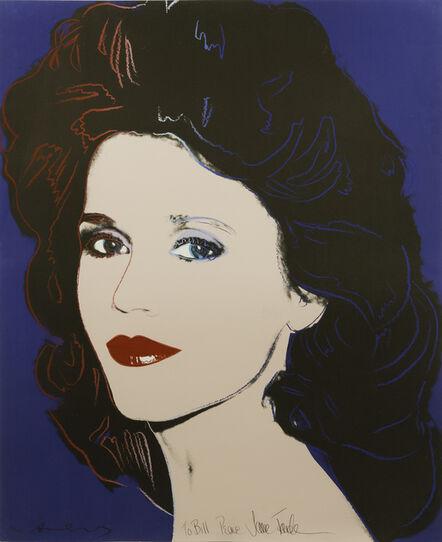 Andy Warhol, 'Jane Fonda, F/S #II.268', 1982