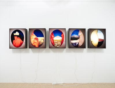 Helen Chadwick, 'Los Nymphos, (I) West: Asteroskopeion  (II) North: Agia Marina  (III) North East: Agora  (IV) East: Acropolis  (V) South, South East: Pnyx', 1987