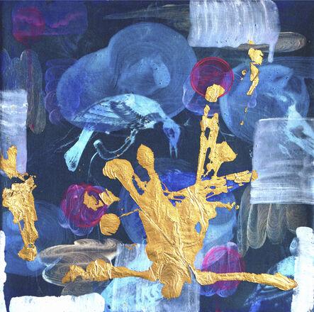 Peggy Cyphers, 'Blue Bud', 2017