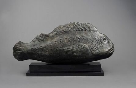 William Zorach, 'Grouper (Large Fish), 2/6', 1963