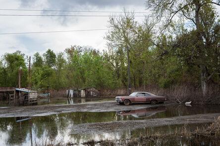 Carolyn Monastra, 'Old Car in Flooded Yard, Braithwaite, Louisiana', 2012