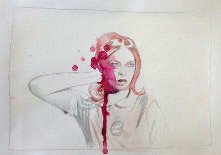 Mercedes Helnwein, 'Thought (Timony Horizontal)', 2013