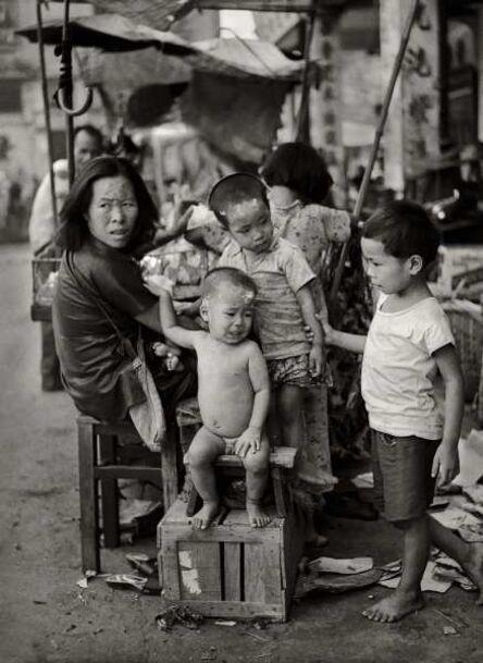 Fan Ho, ''Five Little Ones 五個小孩的母親' Hong Kong', 1950/60s