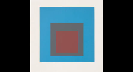 Josef Albers, 'Hommage au Carré (Tribute to the Square)', 1965