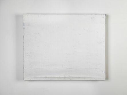Steve Riedell, 'Folded-Over Painting (White/Horizontal)', 2012