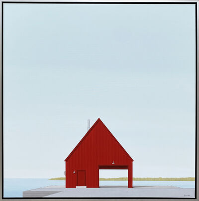 F. Lipari, 'Dockside', 2021