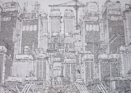 Daisuke Tajima, 'Unified Cityscape of today', 2017