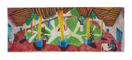 David Hockney, 'Hotel Acatlán: Two Weeks Later, from: The Moving Focus Series', 1985