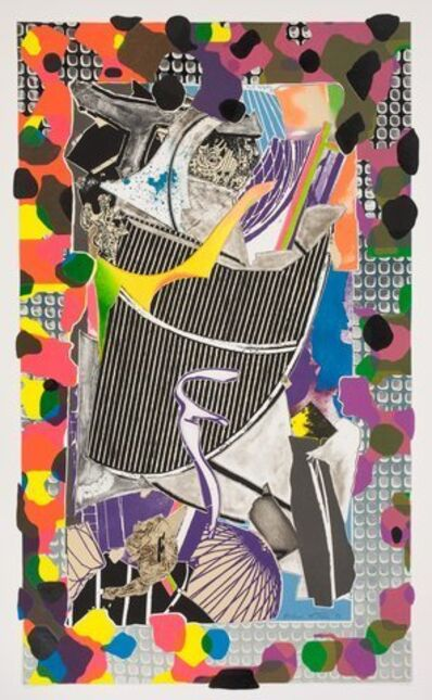 Frank Stella, 'The Battering Ram, from Moby Dick Deckle Edges', 1993