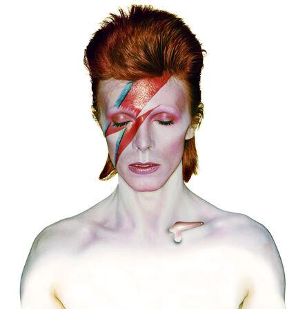 Brian Duffy, 'David Bowie. Aladdin Sane (Closed Eyes)', 1973