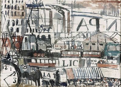 Joaquín Torres-García, 'Ritmo de ciudad (City rhythm)', 1918