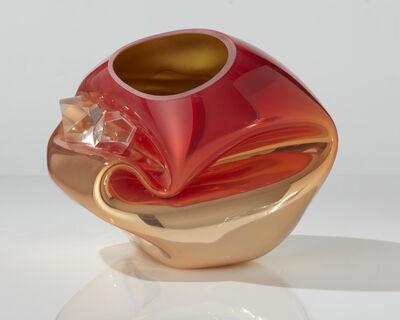 Jeff Zimmerman, 'Crinkled Sculptural Vessel', 2013