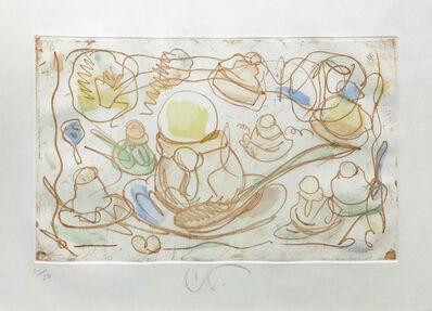 Claes Oldenburg, 'ICE CREAM DESSERTS', 1976