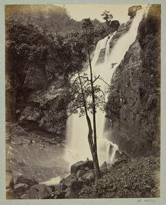 Samuel Bourne, 'Cascade ', 1863-1870