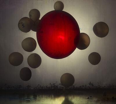 Kim Keever, 'Abstract 25565b', 2016