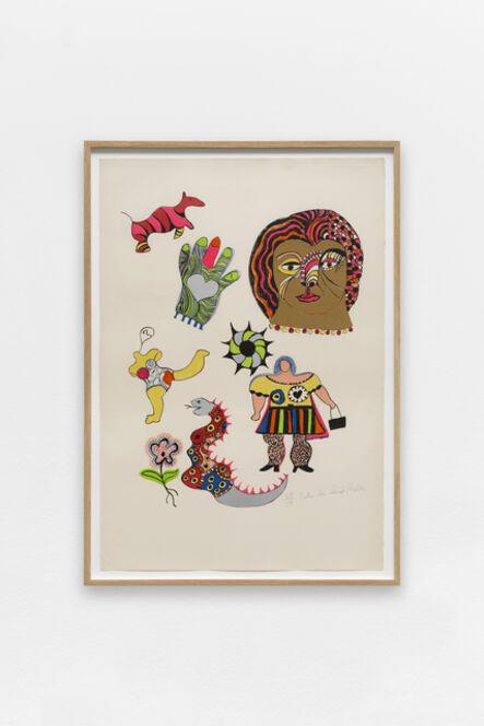 Niki de Saint Phalle, 'Golden Head', 1968