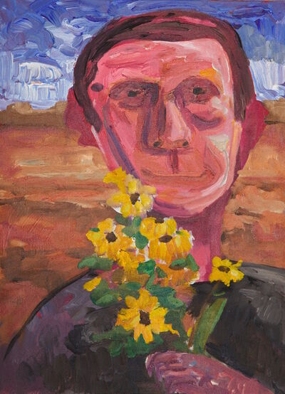 """Reza Java, 'Flowers in the Desert (from the """"100 Brothers"""" series)'"""