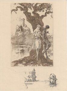 Louis Icart, 'Bigarrure', 1928