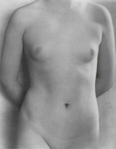 Dorothea Lange, 'Torso', 1923