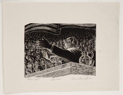 Lou Barlow, 'The Speech', ca. 1935