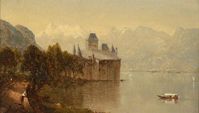 Sanford Robinson Gifford, 'Castle of Chillon', 1861