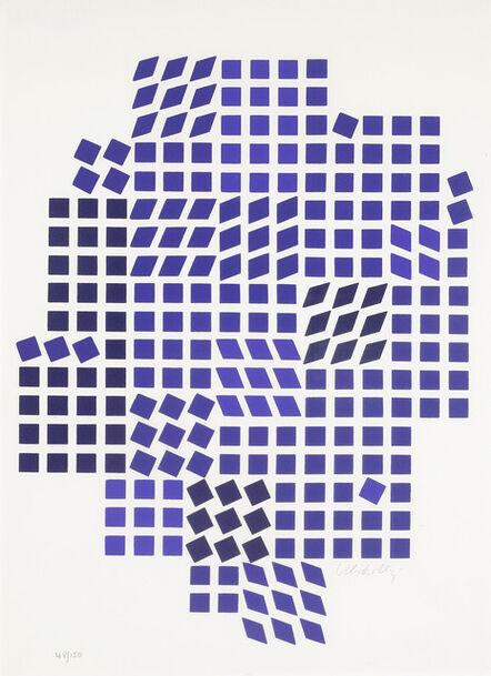 Victor Vasarely, 'Code - Les Bleus', 1967