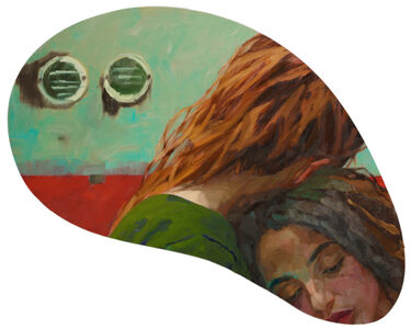 Xenia Hausner, 'Sleepwalking', 2020