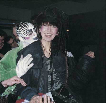 'Leigh Bowery and Gerlinde Costiff at Taboo, London', 1985