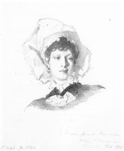 John Singer Sargent, 'Fanny Watts', 1876