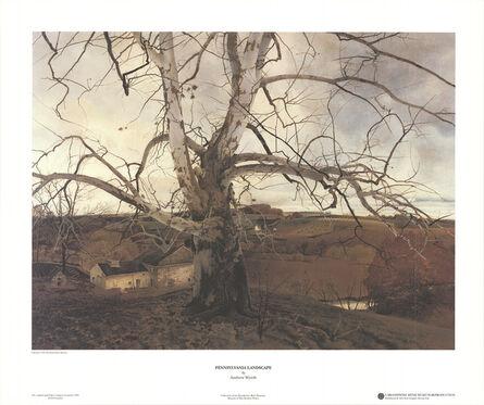 Andrew Wyeth, 'Pennslyvania Landscape', 2001