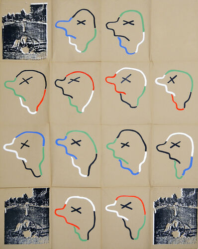 Eugenio Dittborn, 'Unfinished-Finished, Airmail Painting No. 187  ', 1987-2014