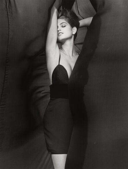 Herb Ritts, 'Cindy Crawford - Versace 3, El Mirage', 1990