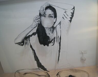 Eugenia Alcaide, 'Selfportrait 3', 2014