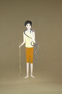 Carolina Raquel Antich, 'El perseguidor de serpientes / The snake chaser', 2020