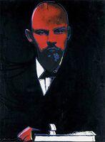 Andy Warhol, 'Black Lenin', 1987