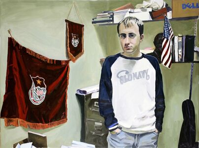 Yevgeniy Fiks, 'Portrait of Dan Margolis (Communist Party USA)', 2007