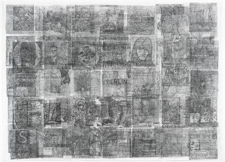 Ciprian Muresan, 'Palimpsest (detail)', 2016