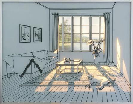 Seontae Hwang, 'An incoming light space', 2020