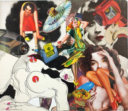 Keiichi Tanaami, 'Collage Book7_27 (1969-1975)', 1972