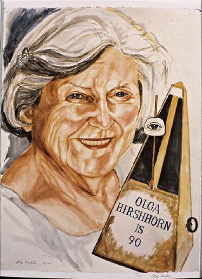 Philip Pearlstein, 'OLGA HIRSHHORN IS 90', 2010