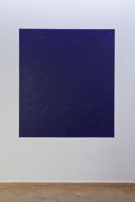 Giovanni Anselmo, 'Oltremare (mentre oltremare verso mezzogiorno appare)', 1979-2017