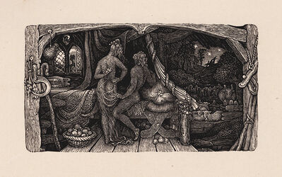 Edward Calvert, 'The Chamber Idyll', 1831 (published 1893)
