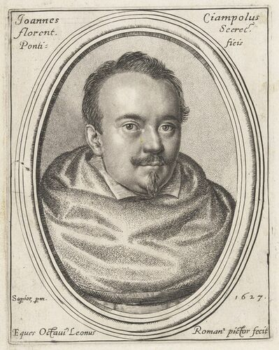 Ottavio Leoni, 'Giovanni Ciampoli, Papal Secretary', 1627