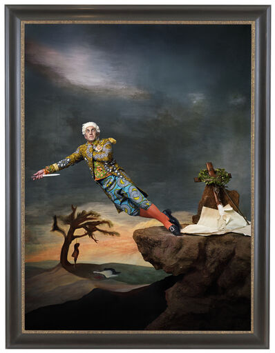 Yinka Shonibare CBE, 'Fake Death Picture (The Suicide – Leonardo Alenza)', 2011