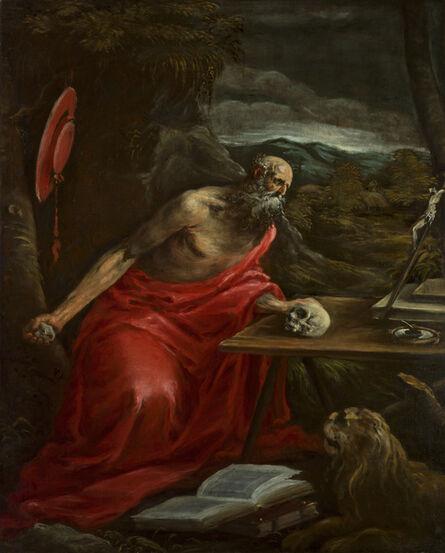 Jacopo Bassano, 'Penitent St. Jerome'