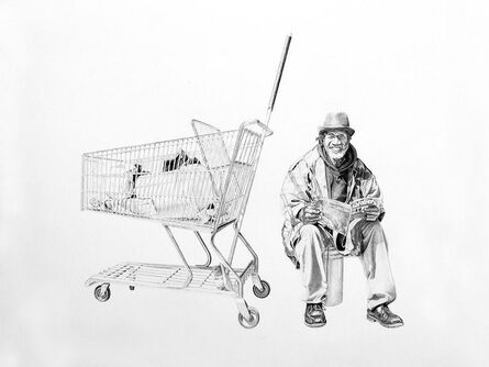 "Joel Daniel Phillips, '""Bernard, Sitting"" ', 2013"