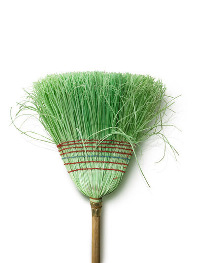 Chuck Ramirez, 'Broom Series: Untitled (Green)', 2007-2011