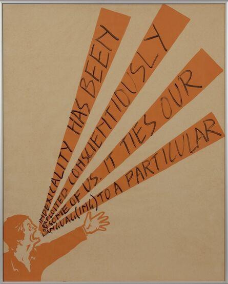 Art & Language, 'Shouting Men (détail)', 1975